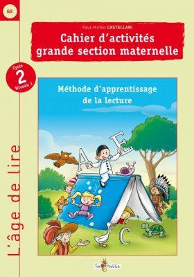 Couverture - L'âge de lire : Grande section de maternelle