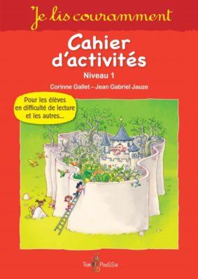 Couverture - Je lis couramment – Cahier d'exercices – niveau 1