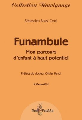 Couverture - Funambule, mon parcours d'enfant à haut potentiel