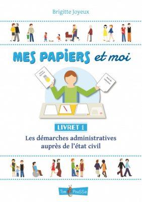 Couverture - Mes papiers et moi, livret 1