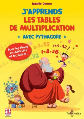 Couverture - J'apprends les tables de multiplication avec Pythagore
