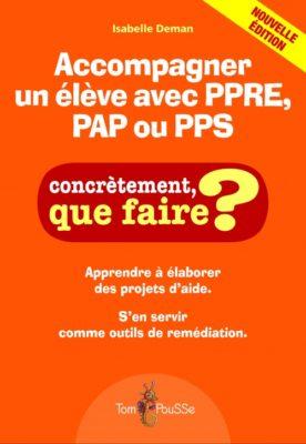 Couverture - Accompagner un élève avec PPRE, PAP ou PPS
