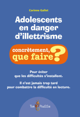 Couverture - Adolescents en danger d'illettrisme