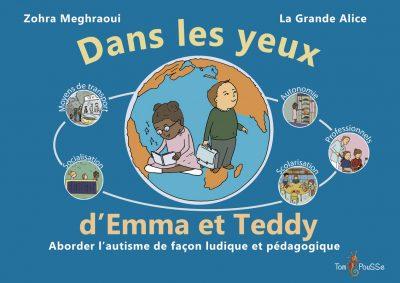 Couverture - Dans les yeux d'Emma et Teddy