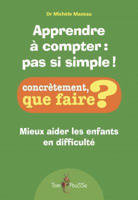 Couverture - Apprendre à compter : pas si simple!